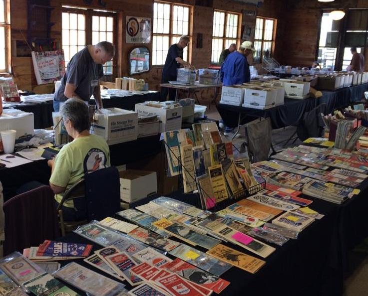 RMCA members enjoy the vast range of maps on sale