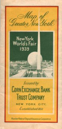 Corn Exchange Bank 1933 Issue