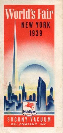 Mobilgas (Socony-Vacuum) 1939 Issue