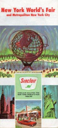 1965 Issue, Sinclair had a huge, memorable presence at the fair.