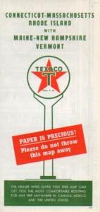 1947 Texaco map
